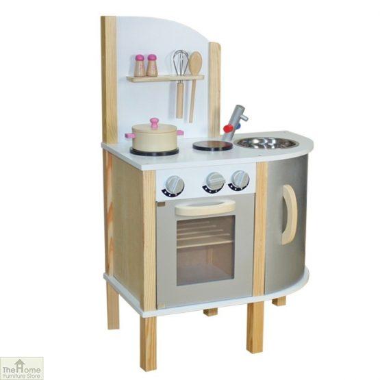 Grey Contemporary Wooden Toy Kitchen_1