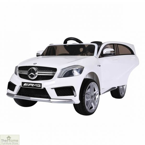 Mercedes White Ride on Car_2