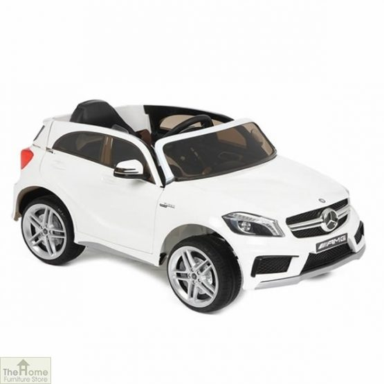 Mercedes White Ride on Car