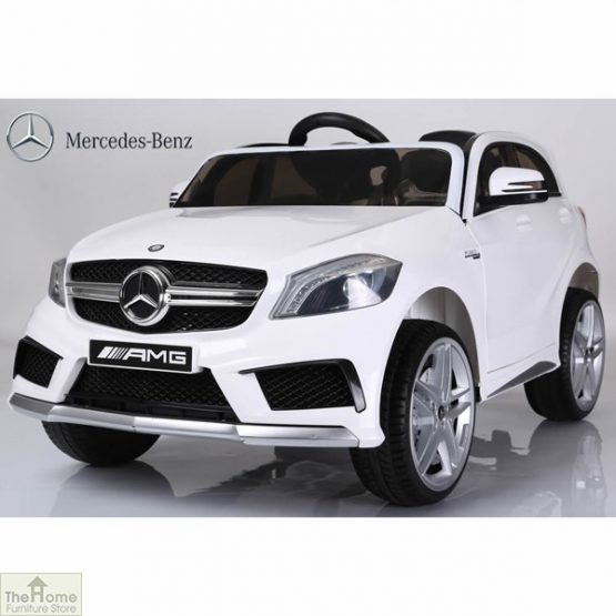 Mercedes White Ride on Car_3
