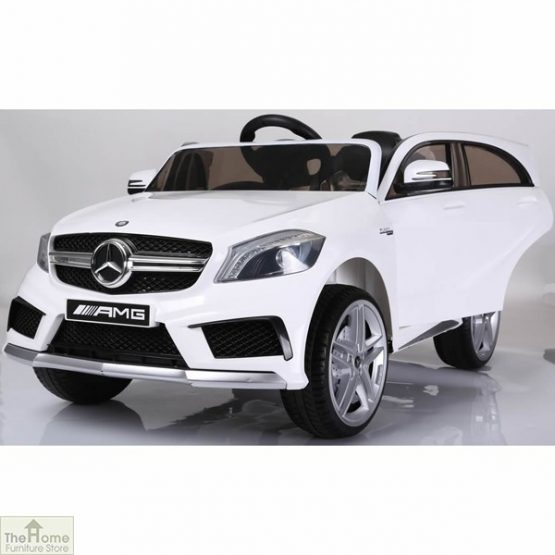 Mercedes White Ride on Car_4