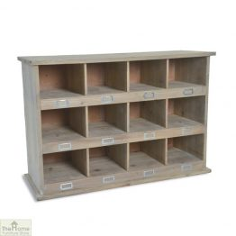 12 Shoe Locker Storage Unit