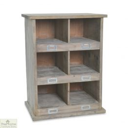 6 Shoe Locker Storage Unit