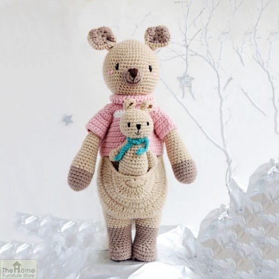 Kangaroo Knitted Toy_2