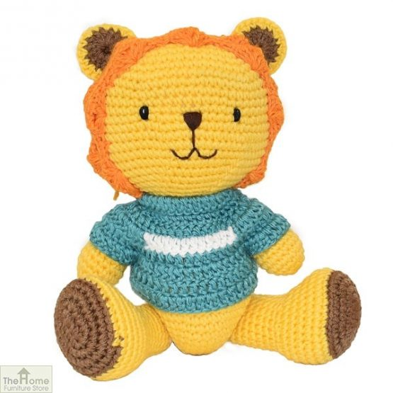 Lion Knitted Toy