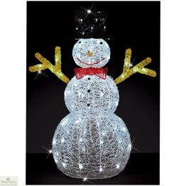 LED 90cm Christmas Snowman