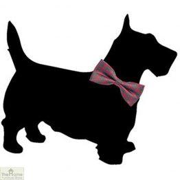 Scottish Terrier Shaped Chalk Board