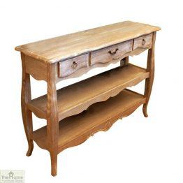 Casamoré Lyon 3 Drawer 2 Shelf Console Table