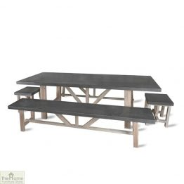 Large Bench Dining Set