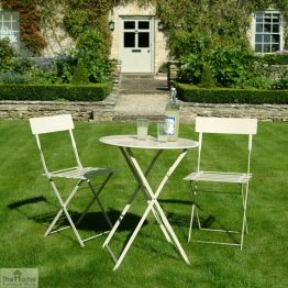 Small Round 2 Seater Bistro Set_1