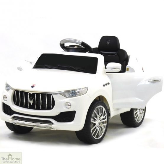 Maserati White Ride on Car