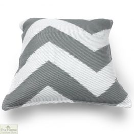 Grey and White Cushion_1
