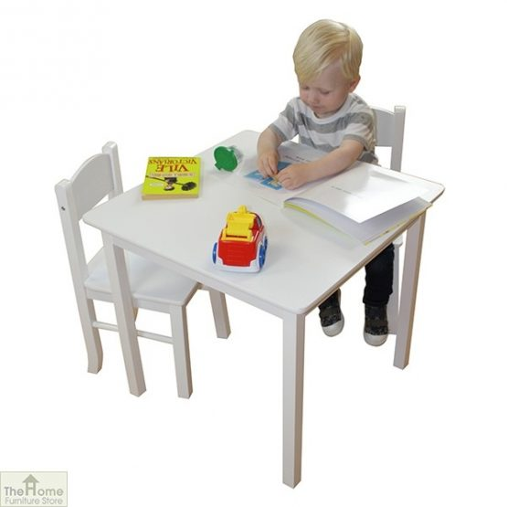 White Table and Chairs Set_1