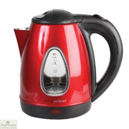 Red 1.7L Cordless Kettle