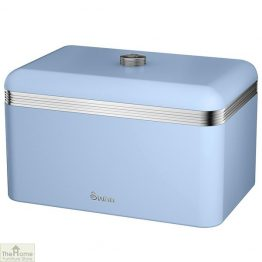 Blue Retro Bread Bin