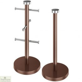 Copper Mug Tree & Towel Holder