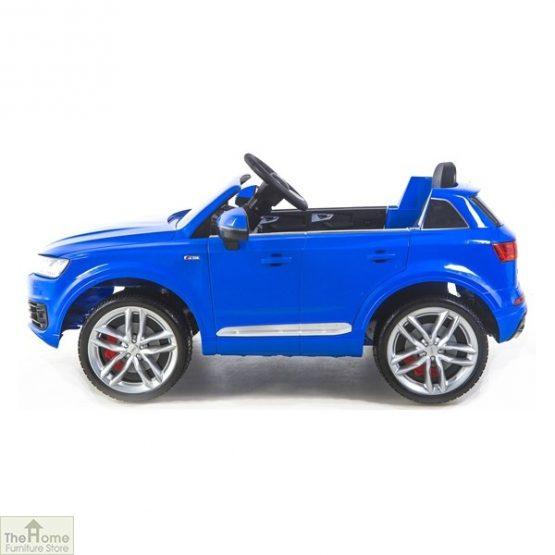 Audi Blue Ride on Car_3