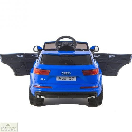 Audi Blue Ride on Car_5