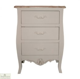 Casamoré Devon 3 Drawer Bedside Chest