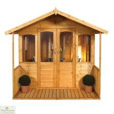 Small Veranda Wooden Summerhouse