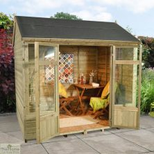Small Traditional Wooden Summerhouse