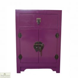 Casamoré Jasmine Purple 1 Drawer Cupboard