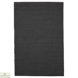 Charcoal Rectangular Jute Rug