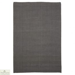 Grey Rectangular Jute Rug