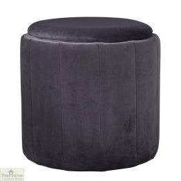 Round Plush Stool