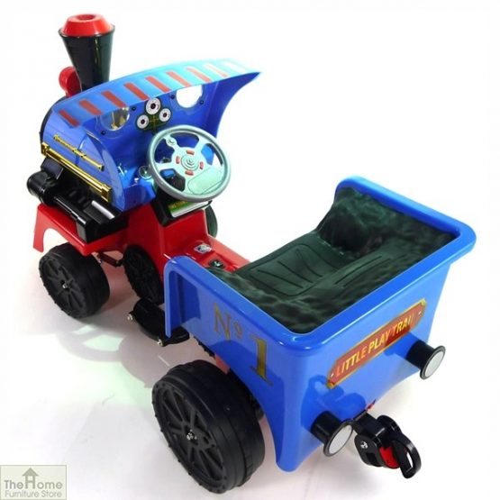 Ride on Train and Pedal Coal Truck_7