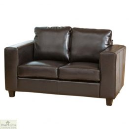Venice Leather 2 Seat Sofa