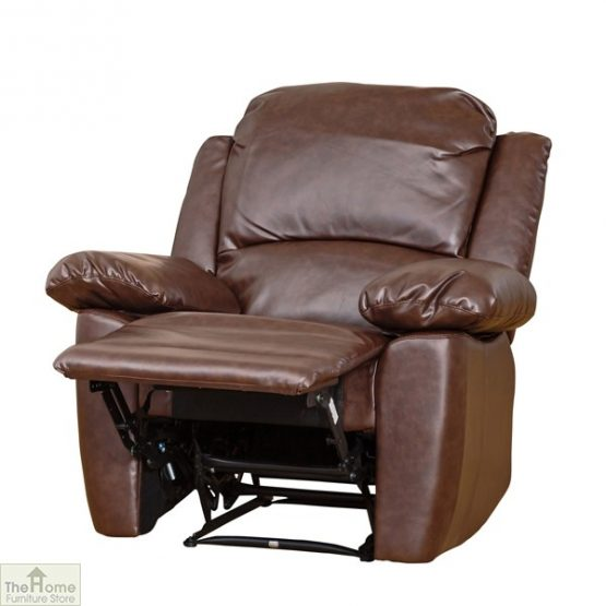 Ontario Leather Reclining Armchair_3