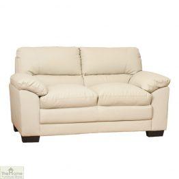Toledo Leather 2 Seat Sofa