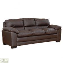 Toledo Leather 3 Seat Sofa