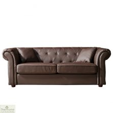 Knightsbridge Leather 2 Seat Sofa