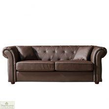 Knightsbridge Leather 3 Seat Sofa