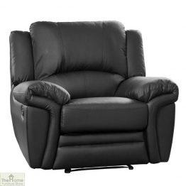 Harrington Leather Reclining Armchair_1