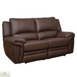 Harrington Leather 2 Seat Reclining Sofa