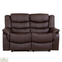 Livorno Leather 2 Seat Reclining Sofa_1