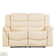 Livorno Leather 2 Seat Reclining Sofa