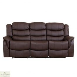 Livorno Leather 3 Seat Reclining Sofa_1