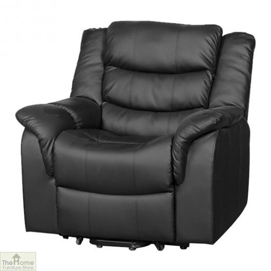 Livorno Leather Reclining Massage Armchair_8