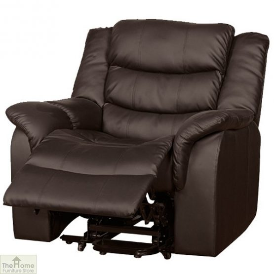 Livorno Leather Reclining Armchair_4