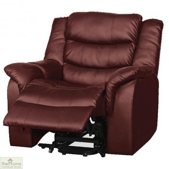 Livorno Leather Reclining Massage Armchair_13