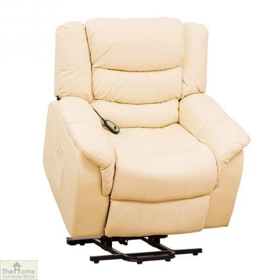Livorno Leather Reclining Massage Armchair_3