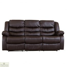 Verona Leather 3 Seat Reclining Sofa_1