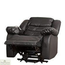 Verona Leather Reclining Armchair