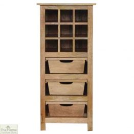 3 Drawer Wine Cabinet