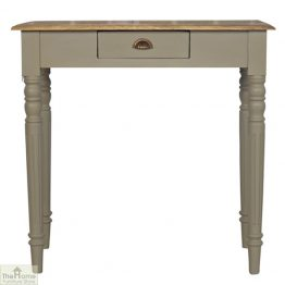 Grey 1 Drawer Console Table