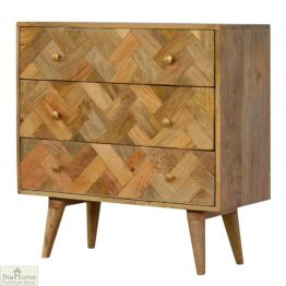 Patterned 3 Drawer Chest_1
